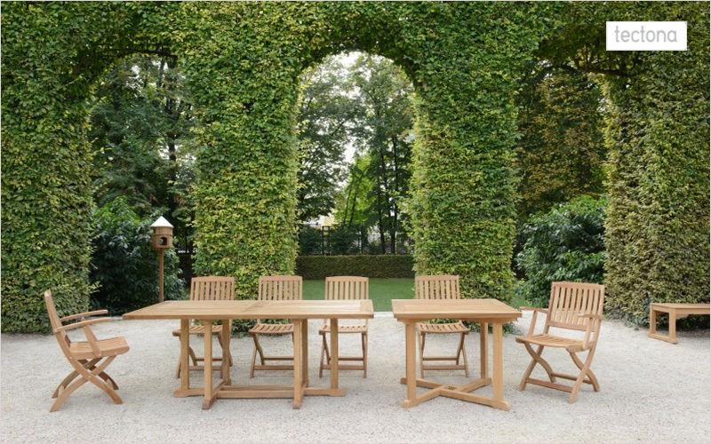 Tectona Table de jardin Tables de jardin Jardin Mobilier  |