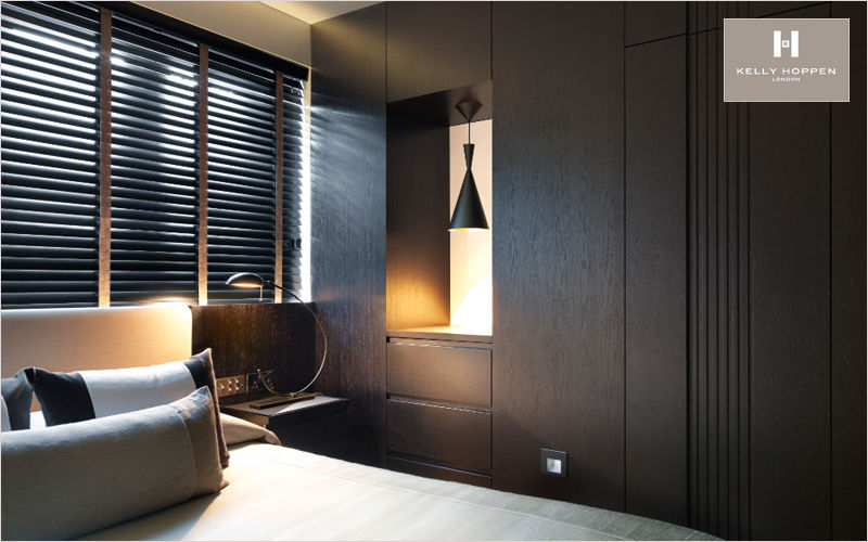 Kelly Hoppen Réalisation d'architecte d'intérieur - Chambre à coucher Divers Mobilier Lit Lit Chambre | Contemporain