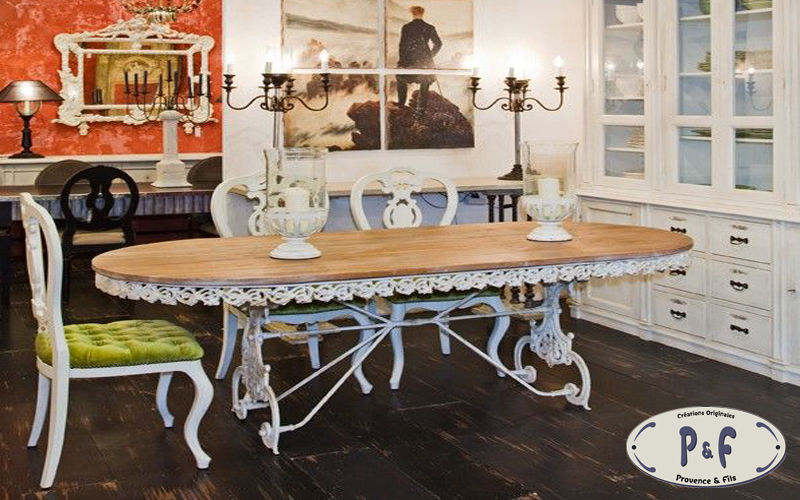 PROVENCE ET FILS Table de repas ovale Tables de repas Tables & divers  |