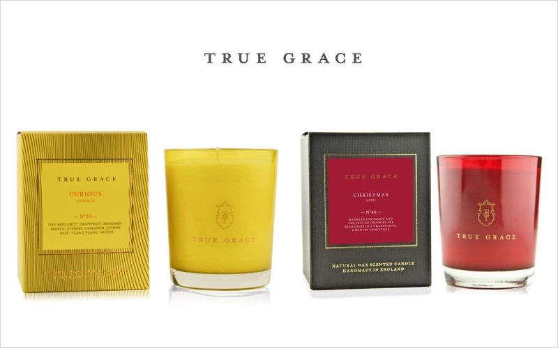 TRUE GRACE Bougie parfumée Bougies Bougeoirs Objets décoratifs  |