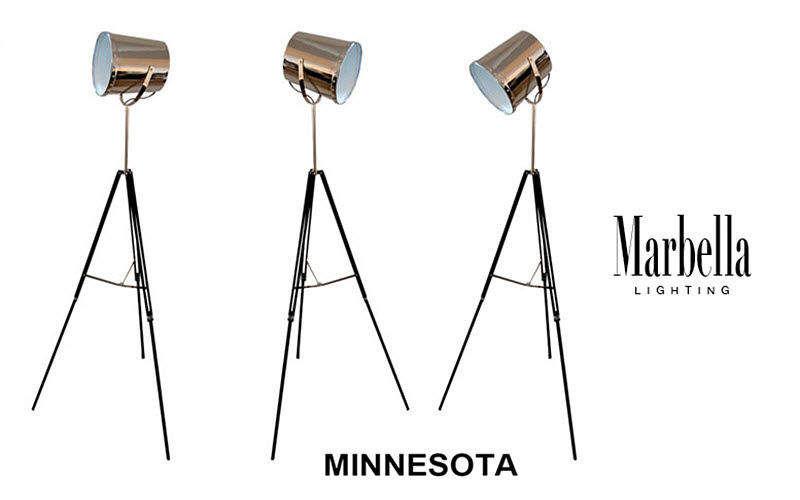 MARBELLA LIGHTING Lampadaire trépied Lampadaires Luminaires Intérieur  |