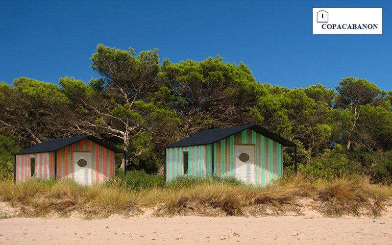 COPACABANON Cabine de plage Abris Chalets Jardin Abris Portails...  |