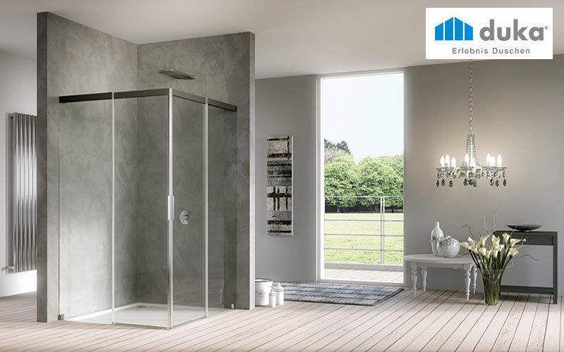 DUKA Cabine de douche d'angle Douche et accessoires Bain Sanitaires  |