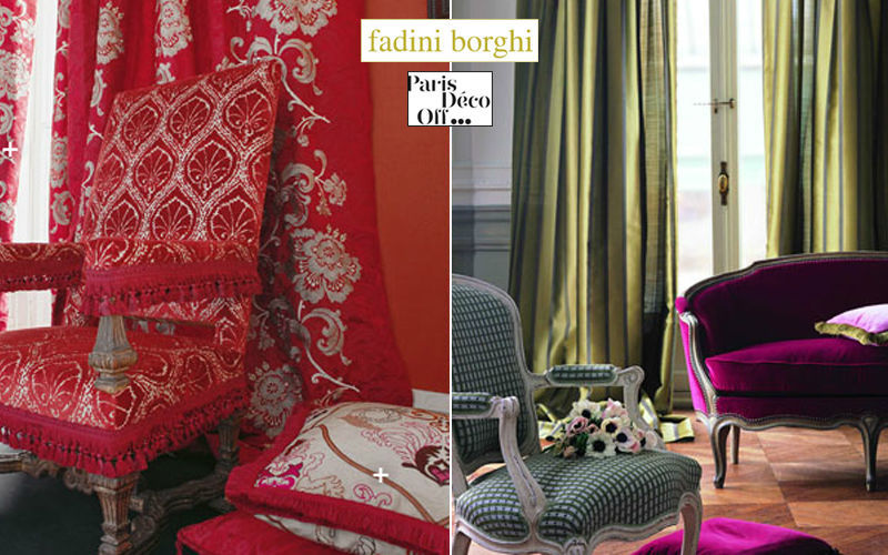 Fadini Borghi Tissu d'ameublement pour siège Tissus d'ameublement Tissus Rideaux Passementerie  |