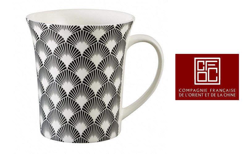 Compagnie Francaise de l'Orient et de la Chine Mug Tasses Vaisselle  |
