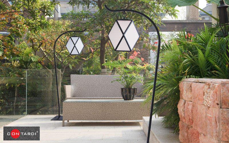 Contardi Lampadaire de jardin Réverbères lampadaires Luminaires Extérieur  |