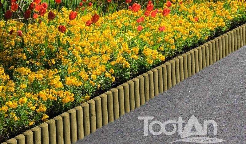 TOOTAN Bordure de jardin Clôtures Bordures Jardin Abris Portails...  |