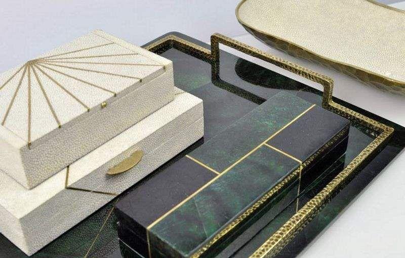 GINGER BROWN Boîte à bijoux Coffrets Objets décoratifs  |
