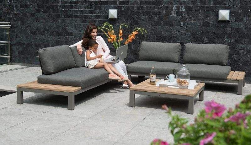 4 SEASONS OUTDOOR Canapé de jardin Salons complets Jardin Mobilier  |
