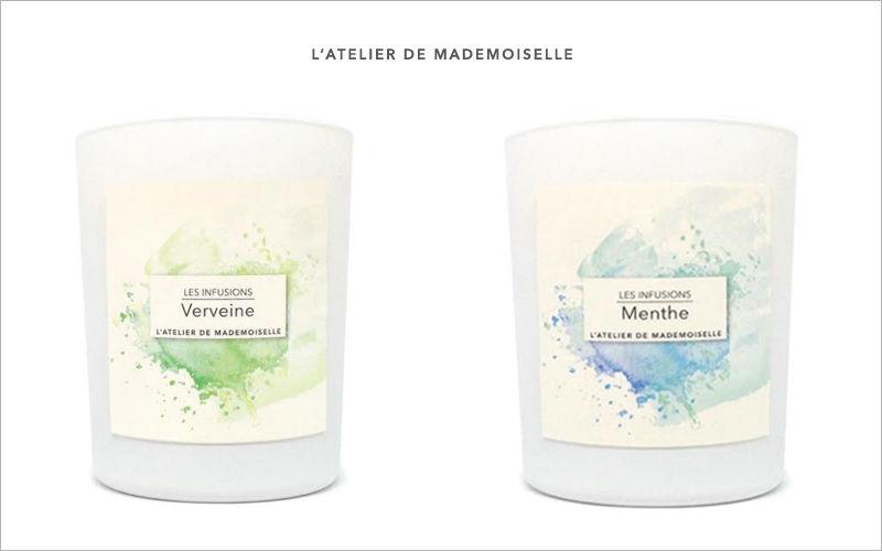 L'ATELIER DE MADEMOISELLE Bougie parfumée Senteurs Fleurs et Senteurs  |