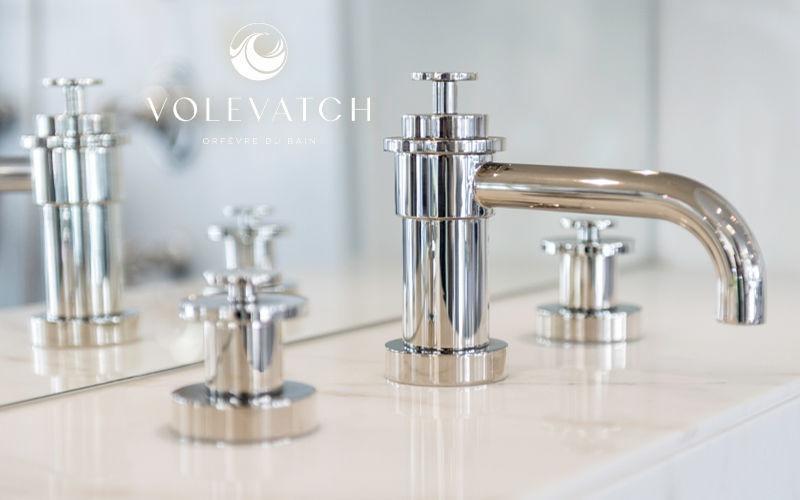 Volevatch Mélangeur lavabo 3 trous Robinetterie Bain Sanitaires  |
