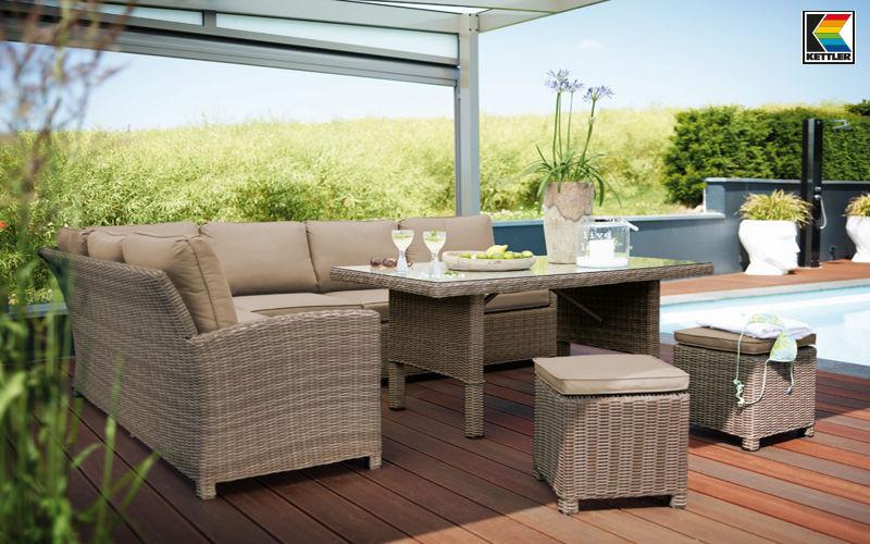 Kettler Salon de jardin Salons complets Jardin Mobilier  |