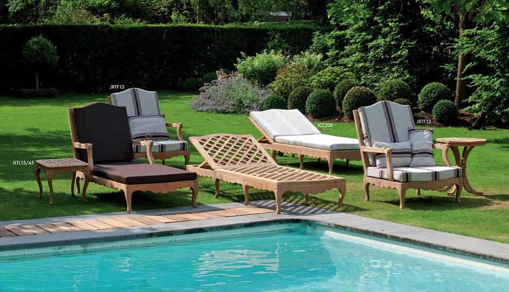 MASSANT Bain de soleil Chaises longues Jardin Mobilier Jardin-Piscine | Classique