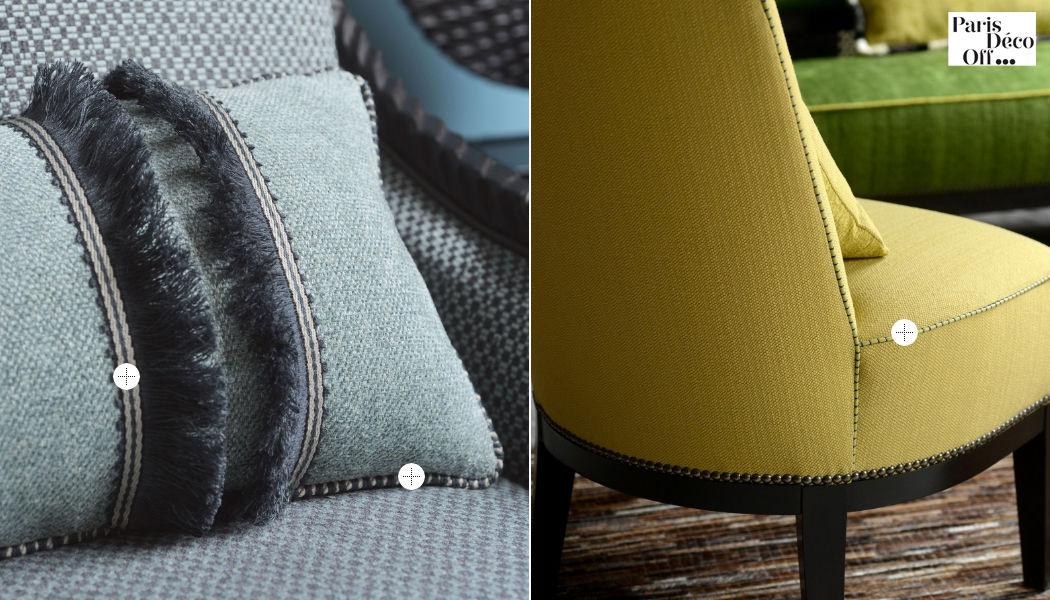 HOULES Tissu d'ameublement pour siège Tissus d'ameublement Tissus Rideaux Passementerie  |