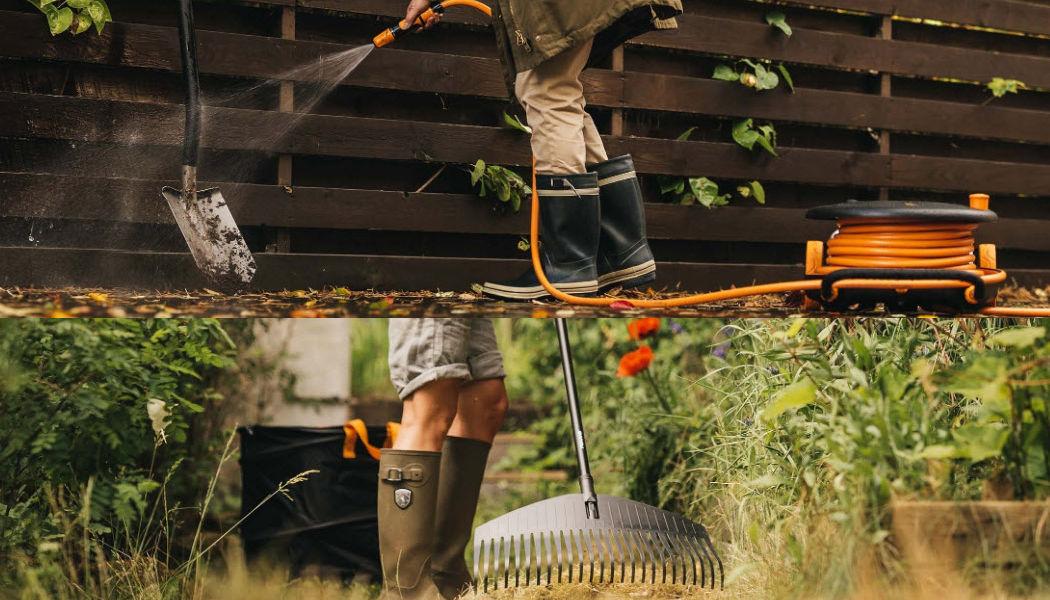 Fiskars Enrouleur de tuyau d'arrosage Arrosage Extérieur Divers Jardin-Piscine | Design Contemporain