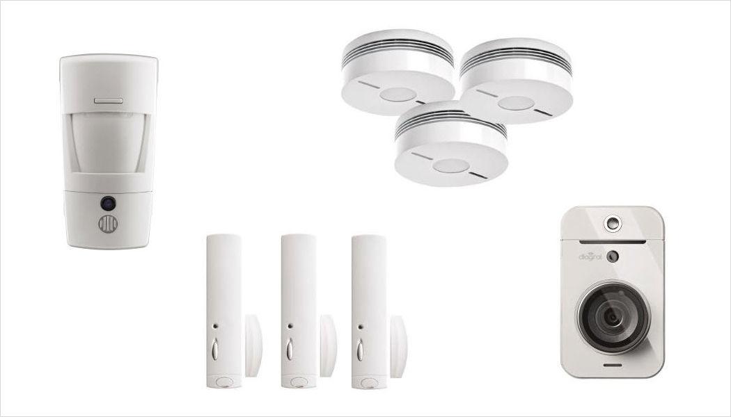 Diagral Alarme détecteur de fumée Alarmes Domotique Salle à manger | Design Contemporain