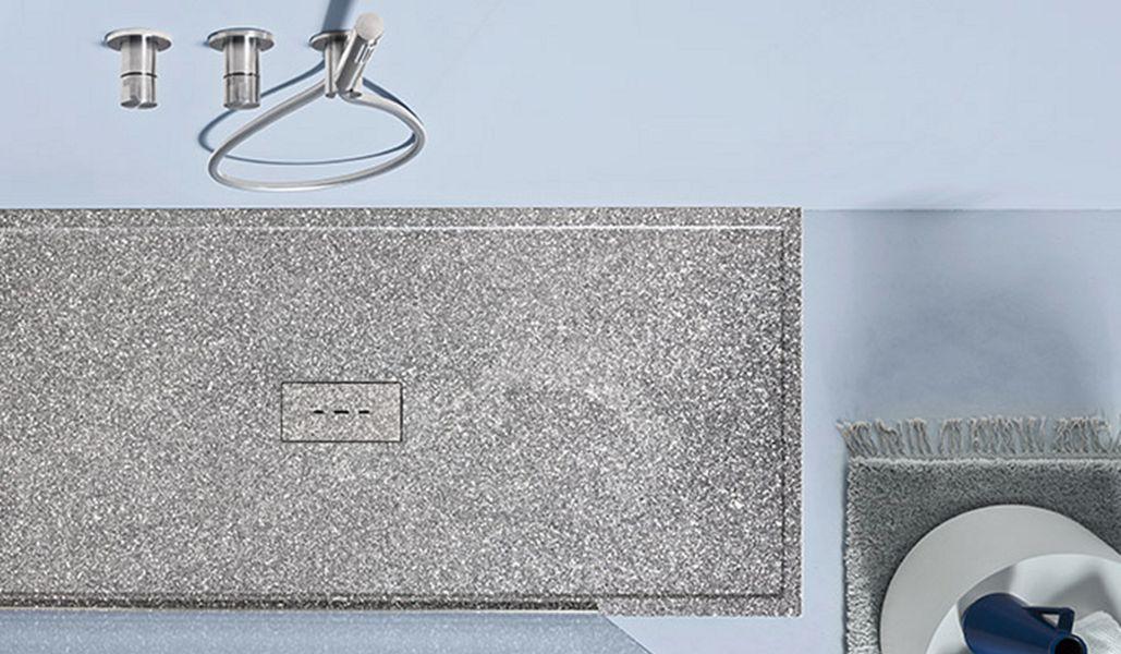 Agha Receveur de douche à encastrer Douche et accessoires Bain Sanitaires  |