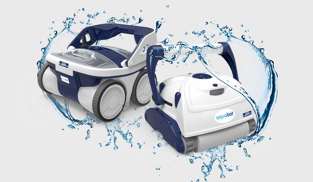 AQUABOT Robot Nettoyeur de piscine Propreté Piscine et Spa  |