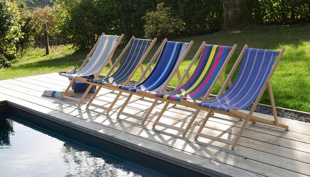 Tissage De Luz Transat Chaises longues Jardin Mobilier  |