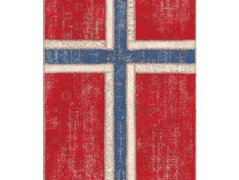 WHITE LABEL - tapis 180 x 120 cm - norway - l 180 x l 120 - coto - Tapis Contemporain