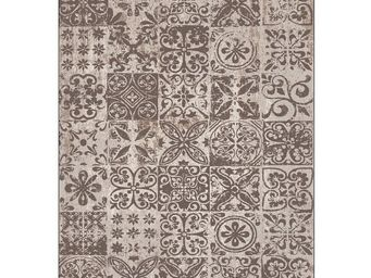 WHITE LABEL - tapis sable 340 x 240 cm - greca - l 340 x l 240 - - Tapis Contemporain