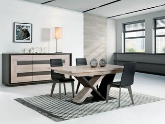 Ateliers De Langres - portland - Table De Repas Rectangulaire