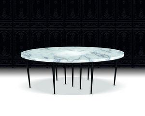 Beau & Bien - mille pieds - Table De Repas Ovale