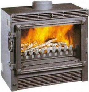 Deville Foyer de cheminée à porte escamotable