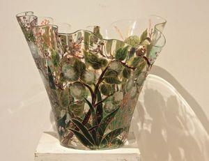 JOY DE ROHAN CHABOT -  - Vase � Fleurs