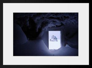 PHOTOBAY - la cabane enneigée n°1 - Photographie