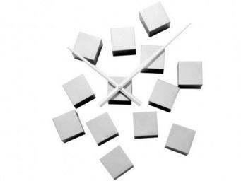 Karlsson Clocks - karlsson - horloge diy cubic - karlsson - argenté - Horloge Murale