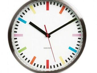 Karlsson Clocks - karlsson - horloge rainbow - karlsson - blanc - Horloge Murale