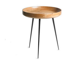 MATER - bowl naturel - Table Basse Ronde
