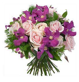AQUARELLE -  - Composition Florale