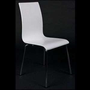 Smart Boutique Design - chaises de salon ou de cuisine espera blanche lot - Chaise