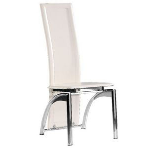 Smart Boutique Design - chaises modernes iris blanc lot de 6 - Chaise