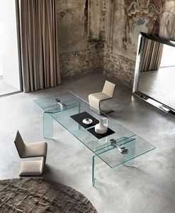 Fiam - ray plus - Table De Repas Rectangulaire