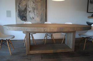 Cabuy Didier -  - Table De Repas Ovale