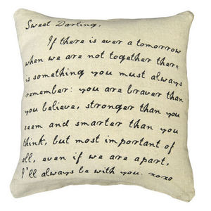 Sugarboo Designs - pillow collection - sweet darling/i - Coussin Carré
