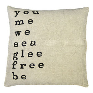 Sugarboo Designs - pillow collection - you me we - Coussin Carré