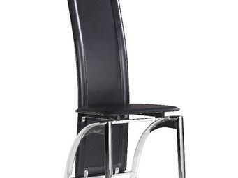 CLEAR SEAT - chaise moderne iris noir - Chaise