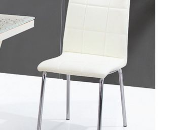 CLEAR SEAT - chaise crème calice - Chaise