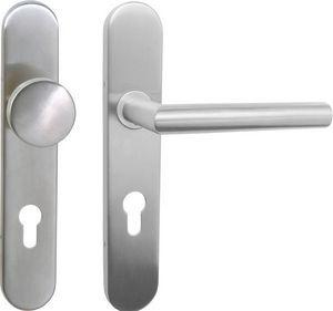 DESIGN MAT - ensemble paliere fixe bequille lazer - Poignée De Porte (ensemble)