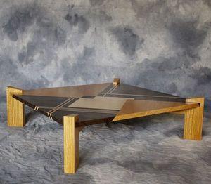 DAAN KOERS ÉBÉNISTE - table basse - Table Basse Carrée