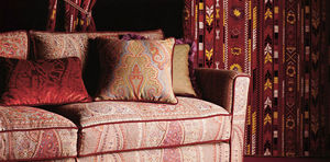 Etro -  - Coussin Carr�