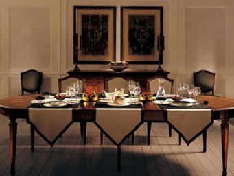 LANDO -  - Table De Repas Ovale