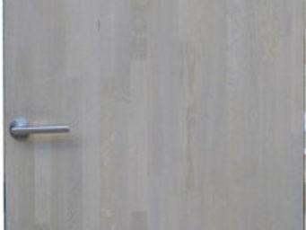 Portes Anciennes - porte d'interieur en ch�ne gris� - Porte De Communication Pleine