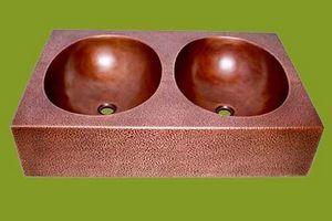 COPPER DESIGN MAKERS -  - Vasque À Poser Double