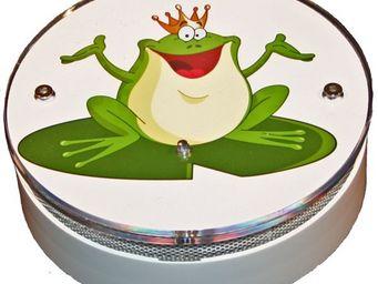 AVISSUR - froggy king - Alarme Détecteur De Fumée