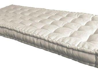Futon Design - matelas 90 x 190 cm futon ecru - Matelas À Ressorts